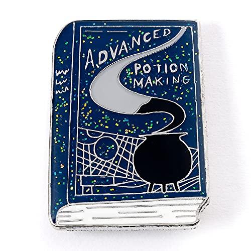 The Carat Shop Badge officiel Harry Potter avec inscription « Advanced Potion Making Book »