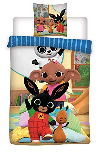 Bing Bed Linen Set Cotton Duvet Cover 155x200 cm + Pillowcase 50x80 cm