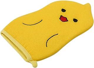 子供用バスタオル、赤ちゃんかわいい漫画角質除去バス手袋、C01