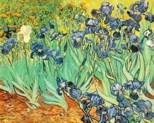 Sets de table Vincent Van Gogh Peinture Les Iris