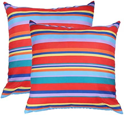 Eternal Beauty Set of 2 Outdoor Pillow Covers Waterproof Throw Pillow Covers for Outdoor Couch product image