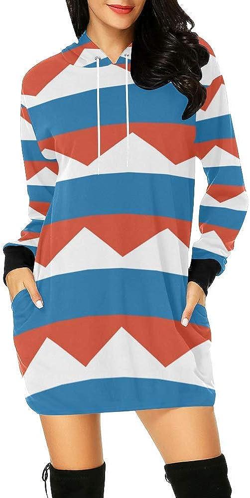 Finally resale start Lumos3DPrint Russian Flag Women's Mini SEAL limited product Hoodie Dress