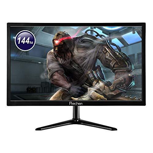 Monitor de 144 Hz, monitor de PC de 21,5 pulgadas, 1920 x 1080, con interfaces HDMI y DP, brillo de...