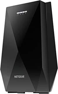 NETGEAR Wi-Fi Mesh Range Extender EX7700 - Coverage up to 2000 sq.ft. and 40 devices with AC2200 Tri-Band Wireless Signal Booster/Repeater (up to 2200Mbps), plus Mesh Smart Roaming with UK Plug