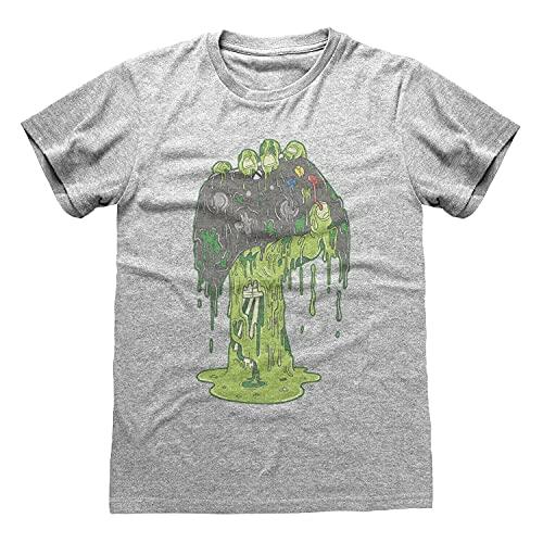 X Box Zombie Hand tee T Shirt Mens Men T Shirt 100% Cotton Sleeve Shirt Grey S