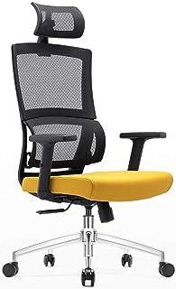 CMmin Escritorio cintura Soporte de Ingeniería trasero de la silla Soporte Técnico Silla Silla ejecutiva de respaldo alto Silla de oficina ergonómico de descanso de malla tapizar asiento de la silla g
