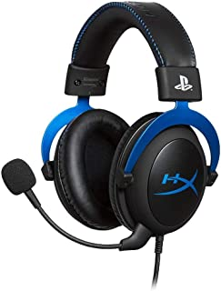 HyperX Cloud ゲーミングヘッドセット PlayStation公式ライセンス PS5/PS4 対応 インライン音量コントロールBox付属 2年保証 HX-HSCLS-BL/AS