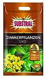 10 Liter Sack Ideal zum Topfen und Umtopfen von Zimmerpflanzen. Angereichert mit SUBSTRAL Dünger Nimmt bis zu 30 % mehr Wasser auf Gewährleistet eine gute Wasser- und Nährstoffversorgung