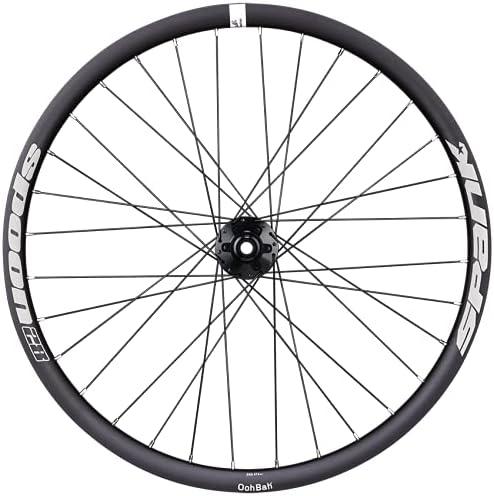 Spank Spoon 28 Front Wheel Non-Boost Black Max 84% OFF 24