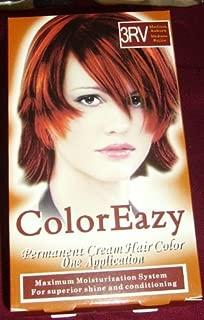 Color Eazy Permanent Cream Hair Color - Medium Auburn by De La Ritz