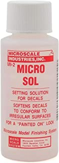 Micro Sol Setting Solution, 1 oz by Microscale Industries