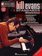 Bill Evans Standards - Jazz Play-Along Volume 141(CD/PKG)