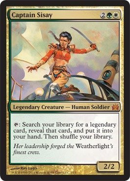 Magic: the Gathering - Captain Sisay - from The Vault: Legends - Foil