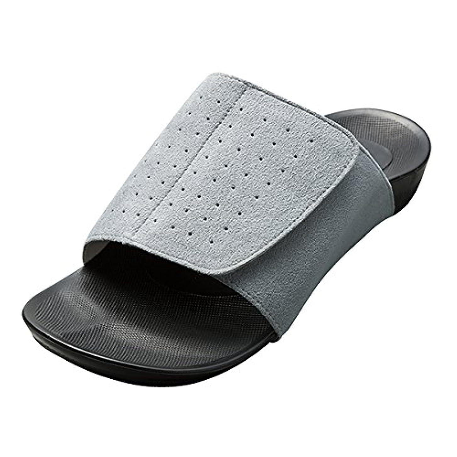 サリーぼろバラエティAKAISHI(アカイシ)アーチフィッター601室内履き (LL(25.0-25.5cm), グレー)