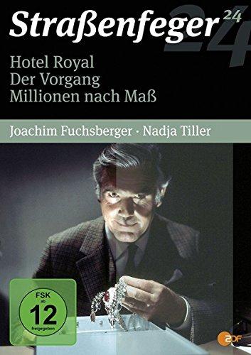 Straßenfeger 24 - Hotel Royal / Der Vorgang / Millionen nach Maß [4DVDs]