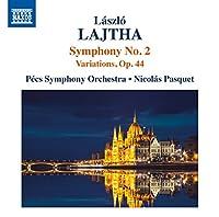 Laszlo Lajtha: Symphony No. 2 / Variations, Op. 44
