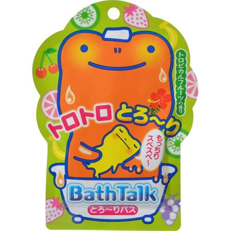 チート安全ピジン紀陽除虫菊 バストーク とろーりバス トロピカルフルーツの香り 35g