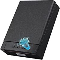 KYODOLED Gun Safe Box with Fingerprint Lock