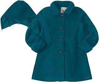 Trench Coat Lilica Ripilica Azul Meninas Bebês
