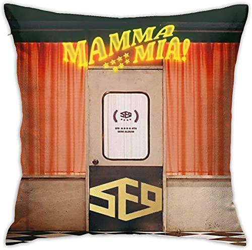S-F9 Me-RCH Pillowcase Multicoloured Generalduty ,Cushion Cover,Throw Pillowcase,Multiple