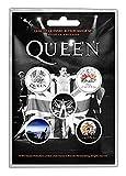 Button Set - Queen Freddie -
