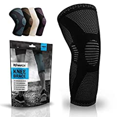 Phenomenal Protection: PowerLix Knee brace apply stable pressure across your knee joint. Offers optimal muscle support between workouts and during casual everyday activities. With our sleeve, you'll be able to tackle any activity life throws your way...