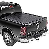 "RetraxPRO MX Retractable Truck Bed Tonneau Cover   80843   Fits 2007 - 2021 Toyota Tundra Regular & Double Cab w/ Deck Rail System 8' 2"" Bed (97.6"")"