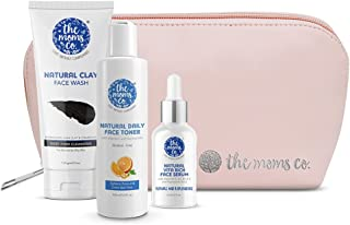 The Moms Co. Summer Must-Haves Kit For Oil Free look I Hydrated and Radiant Skin and Natural Glow