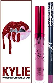 KYLIE JENNER Cosmetics Lip Kit Matte Liquid Lipstick & Lip Liner in HEAD OVER HEELS * LIMITED EDITION *