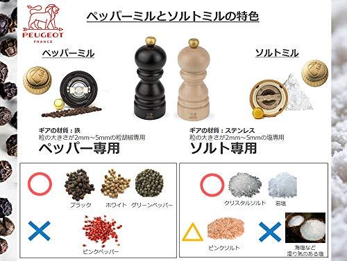 プジョーPEUGEOTミルソルトミル13cmチョコクレモン27940