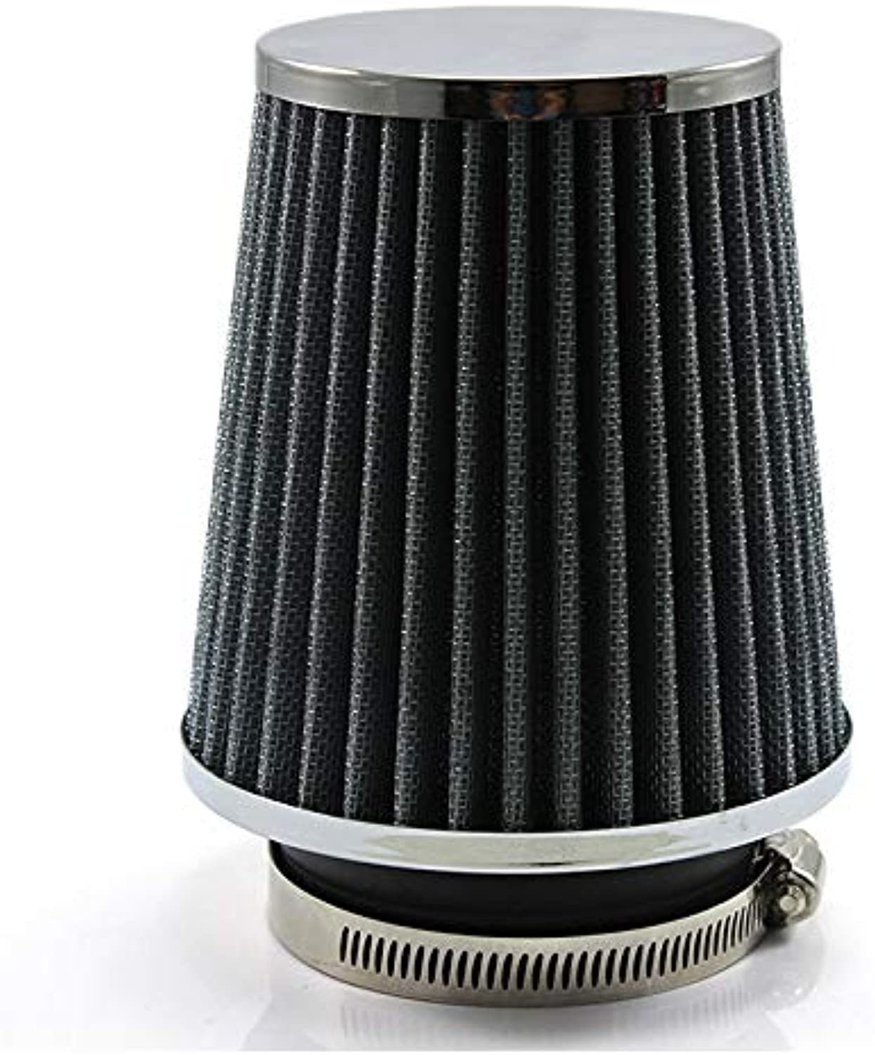 Fincos DOXINGY 76mm Silver Mushroom Head Air Filter Car Universal High Flow Cold Kits car Modification Intake Reuseable Fuel Economy