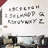 Pegatina de pared con diseño de alfabeto de Stranger Things