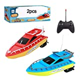 AAAHHH RC Boat Radio Controlled Boat Remote Control Boat Speed Boat Long-Lasting Endurance High Speed Racing Boat Water Speed Boat Boy Model Airplane Toy,C