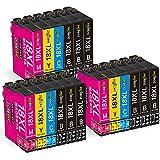 DOREINK 18XL Tinta Cartuchos de Tinta para Epson 18 18XL Multipack Compatible Epson Expression Home XP-215 XP-322 XP-325 XP-305 XP-312 XP-315 XP-205 XP-225 XP-202 XP-212 XP-415 XP-422 XP-425 XP-405