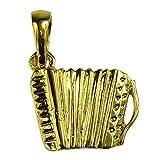 Souvenirs de Francia, diseño de acordeón francés completo-Material: plata, oro o chapados en oro de 18 quilates completo
