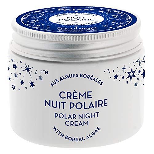 POLAAR - Revitalisierende polare Nachtcreme mit borealen Algen - 50 ml - Gesicht - Anti Falten Nachtcreme - Anti-aging - Sleeping Cream - Natural - Regenerierende Nachtpflege - Feuchtigkeit - Beauty