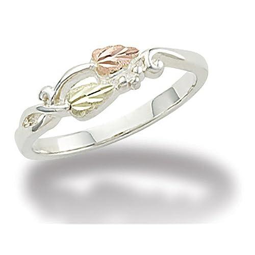 Black Hills Gold Little Rose Ring