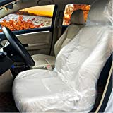 Coprisedili universali per auto, in plastica, trasparenti, per auto, 10 pezzi