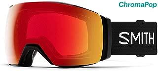 I/O mag XL Ski- Snowboardbrille Black - ChromaPOP Red Mirror Photochromic