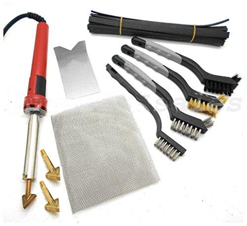 80W Iron Plastic Welding Kit TPO TEO PP Rod Mesh Auto Car Boat Bumper Repair Kit