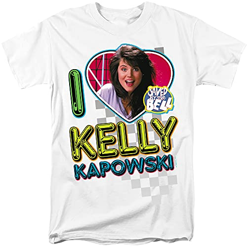 I Heart Kelly Kapowski Saved by The Bell Adult T-Shirt, S to 3XL