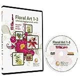 Floral 1-3 Backgrounds MEGA Bundle-Vector Art Images-Grunge Floral, Abstract Flower Graphic Design DVD