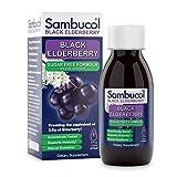 Sambucol Black Elderberry Syrup, Sugar Free Formula, 4 Ounce Bottle
