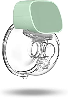 Breast Milk Extractor Electric Breast Pump USB Chargable Silent Wearable Hands-Free Portable Milk Extractor Automatic Milk...