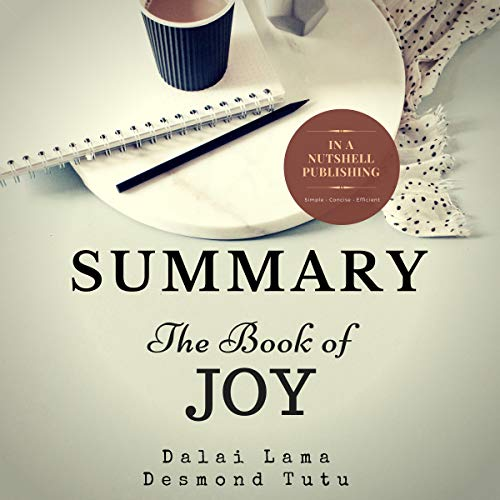 『Summary: The Book of Joy by the Dalai Lama & Desmond Tutu』のカバーアート