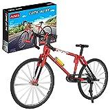 FYHCY Motocicleta de tecnología, 192 Bloques de sujeción Modelo de Bicicleta de Carreras de tecnología, Kit de Bloques de construcción Compatible con Lego Technic