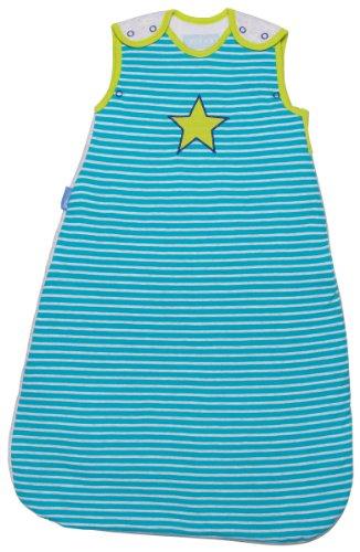 The Gro Company Gigoteuse motif sac de couchage pour bébé Ziggy Pop Parent Bleu 1.0 Tog, 6-18 Months