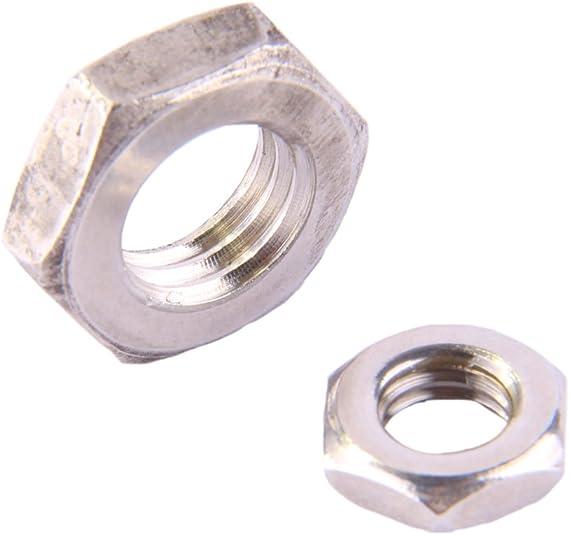 470 pièces Assortiment plat hexagonal écrous DIN 439 m3 à m10 Acier Inoxydable v2a