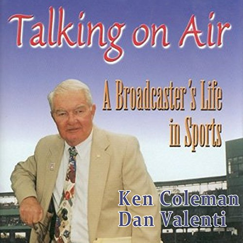 Talking on Air audiobook cover art