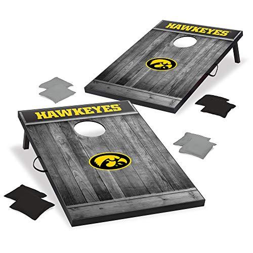 Wild Sports 2x3 MDF Wood NCAA College Iowa Hawkeyes Cornhole Set